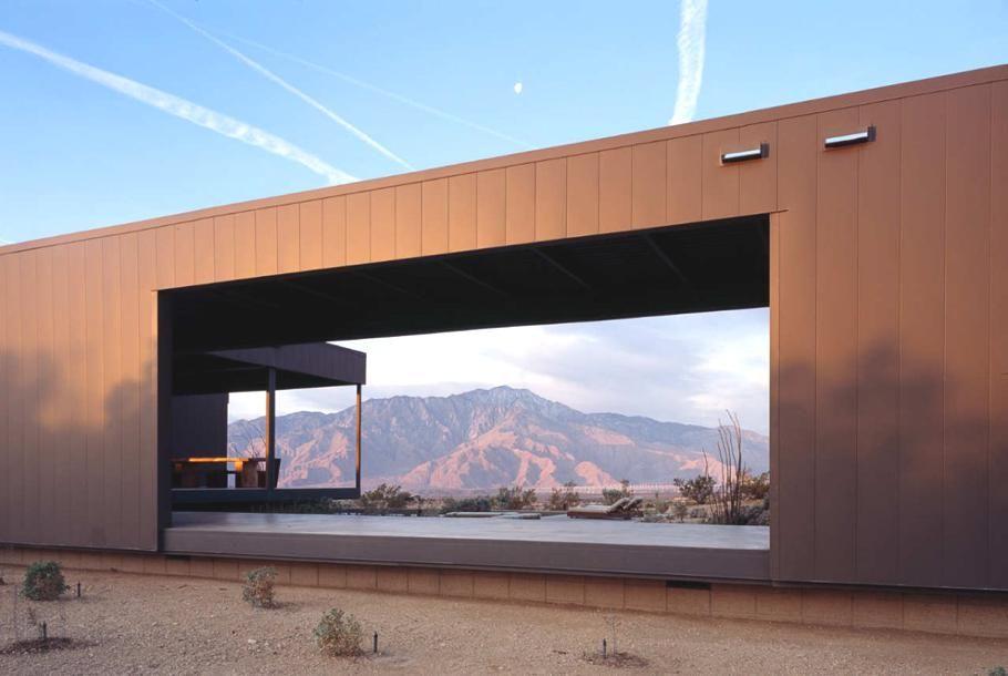 Minimalist Modular Homes studio marmol radziner, the desert house, desert hot springs