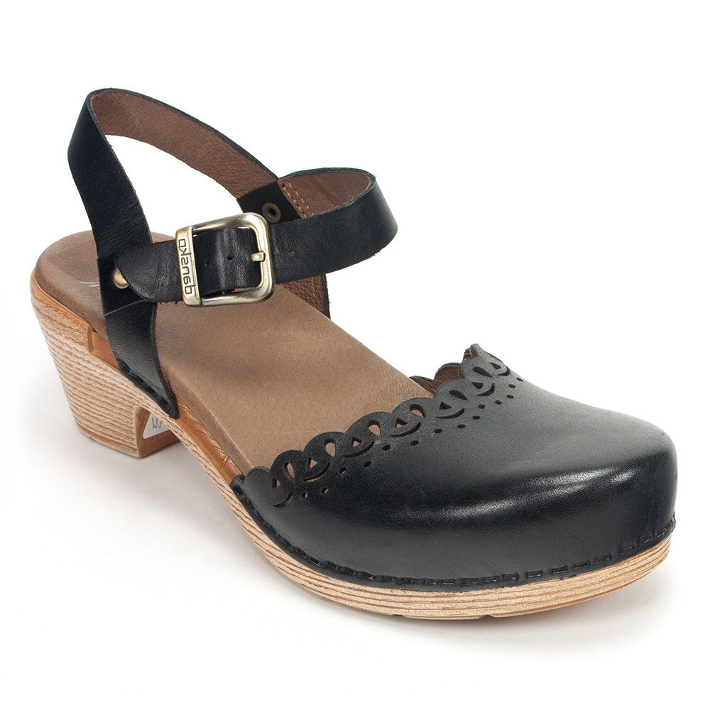 d85ae604bab Dansko Marta Womens Leather Mary Jane Sandal Heel Shoe