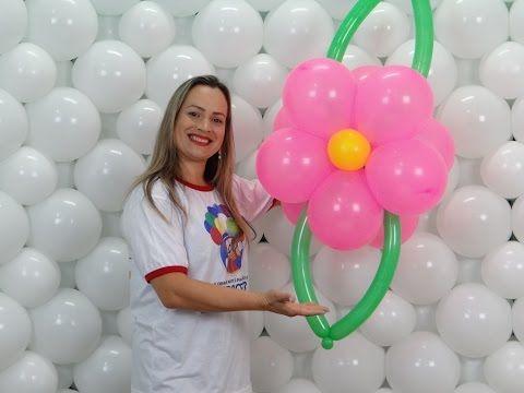 Como Fazer Arco De Bolas Em Forma De Flores Para Festas Infantis