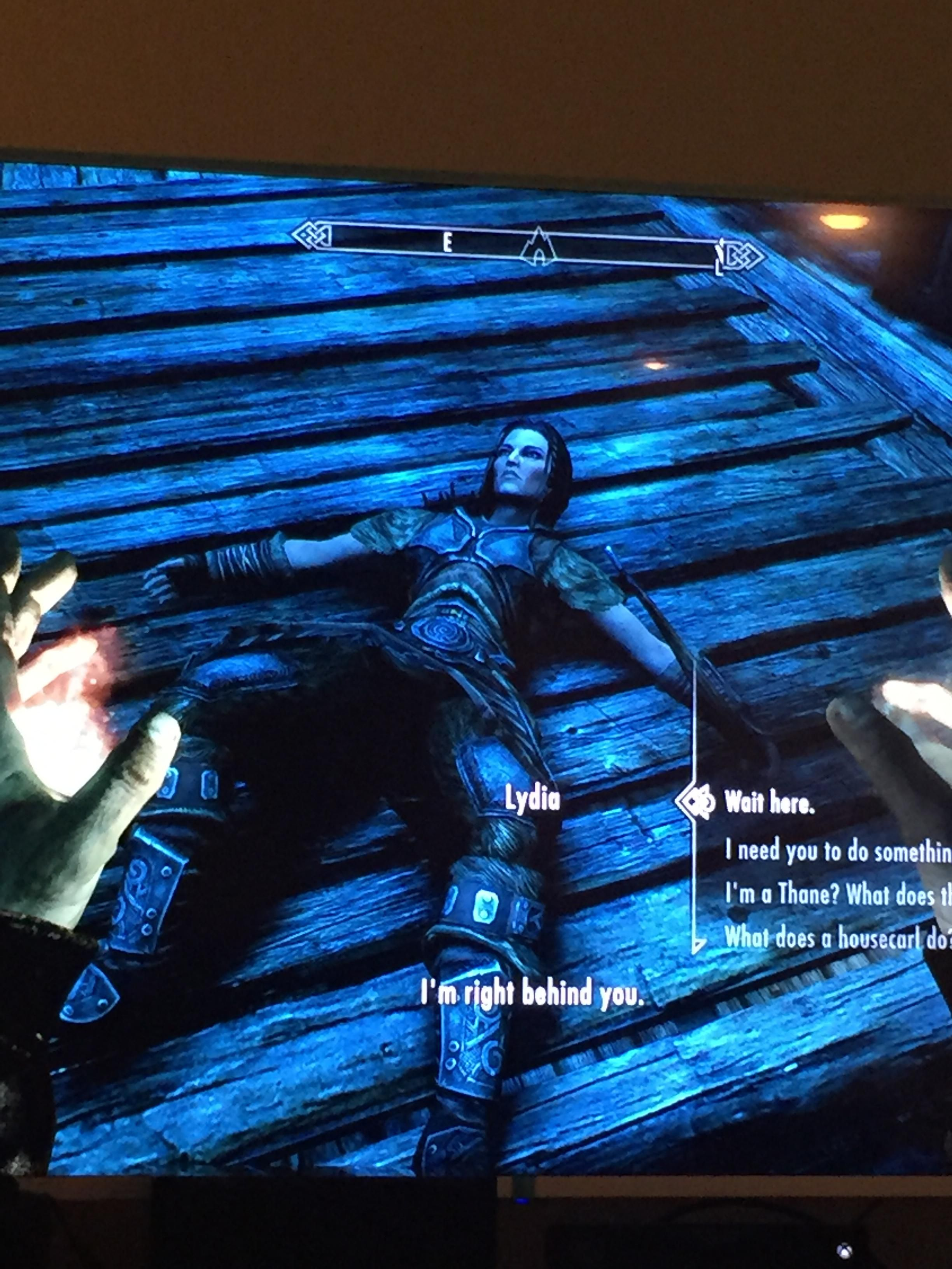 Left Lydia to die after finding out I can't fight giants