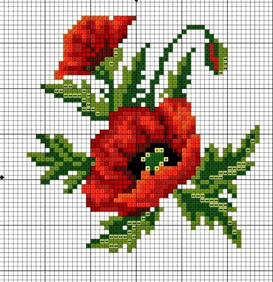 Cool cross stitch patterns free crochet pattern