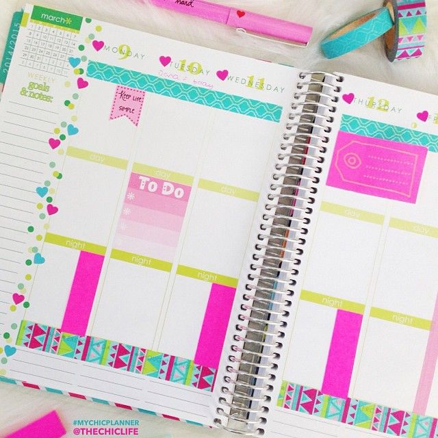 Hereu0027s the next weekly spread in my @erincondren Life Planner with - layout of an agenda