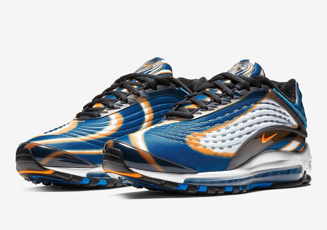 Nike Air Max Deluxe Thunder Blue Releases On November 7th Nike Air Max Running Shoes For Men Nike Air