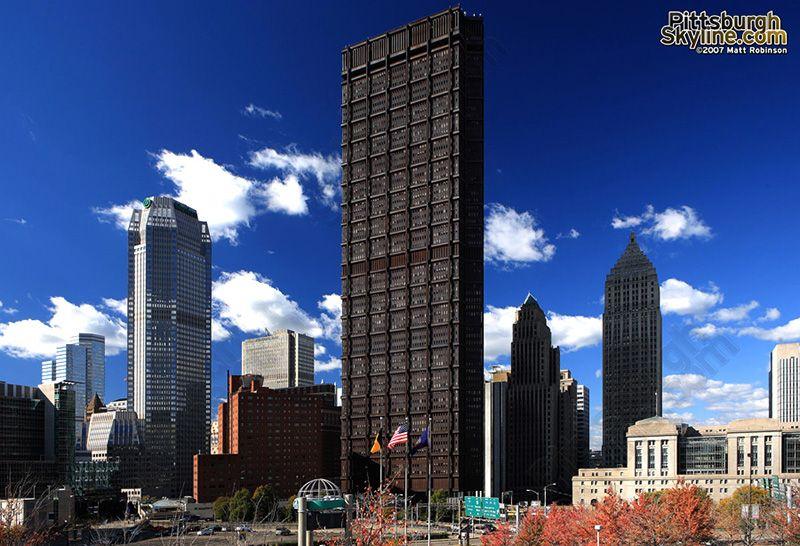 US Steel Tower Pittsburgh Skyline Pre engineered