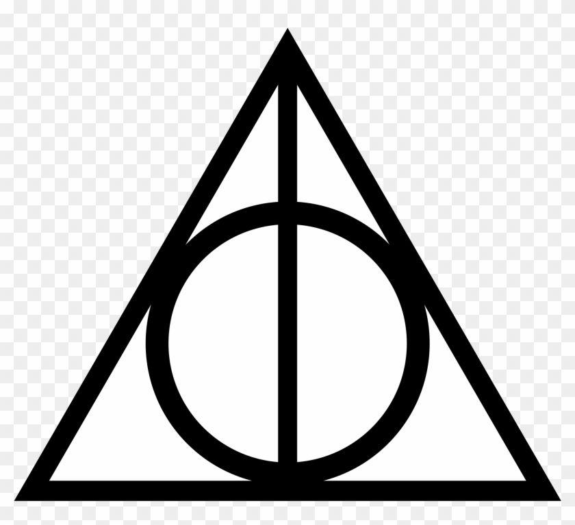 Harry Potter Deathly Hallows Symbol Reliques De La Mort Tatouages Harry Potter Symbole Reliques De La Mort