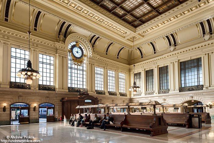 hoboken train station interior i