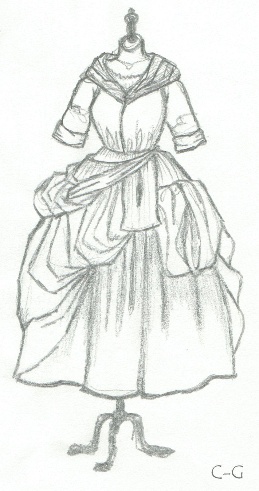 Un tr s joli dessin comment porter le costume les - Dessin costume ...