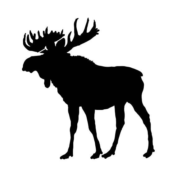 Moose Stencil Reusable Diy Craft Stencils Of A Moose Arts And