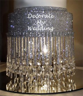 ... This Site, Decorate My Wedding, Is Chock Full Of Crystal Wedding  Decorations Of All Kinds. Bedecked, Indeed!! Shown: Shawna Crystal Cake  Stand