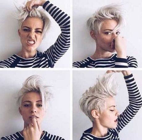 Freche Frisuren Damen 2017 Hair Pinterest Haircuts Hair Style