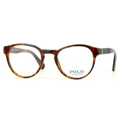 Oculos De Grau Polo Ralph Lauren Acetato Tartaruga Com Haste Verde