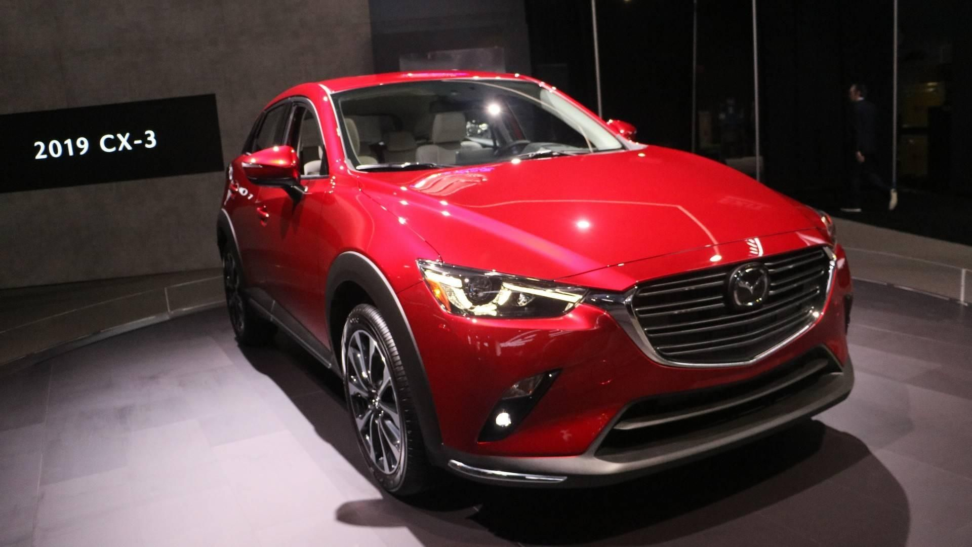 2019 Mazda Cx 3 Debuts With 148 Hp And Improved Interior With Regard