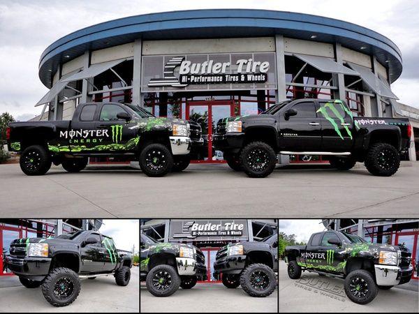 #Want Monster Energy Trucks!