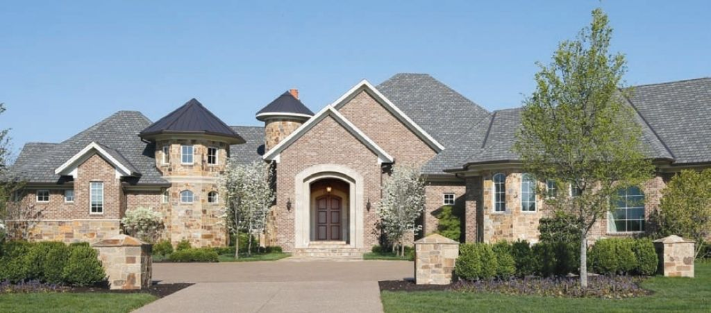 Luxury Homes Exterior Brick brick-home-exterior-worthy-what-colors-of-brick-stone-and-roof-are