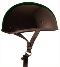 Z1R CC Beanie Mens Half Helmet Flat Black