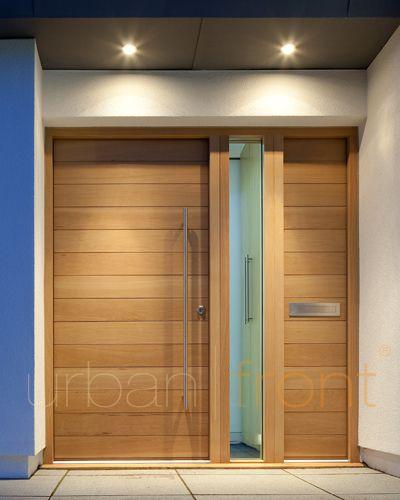 Urban Front - Contemporary front doors UK   configurations   door + 1 sidepanel + 1 sidelite