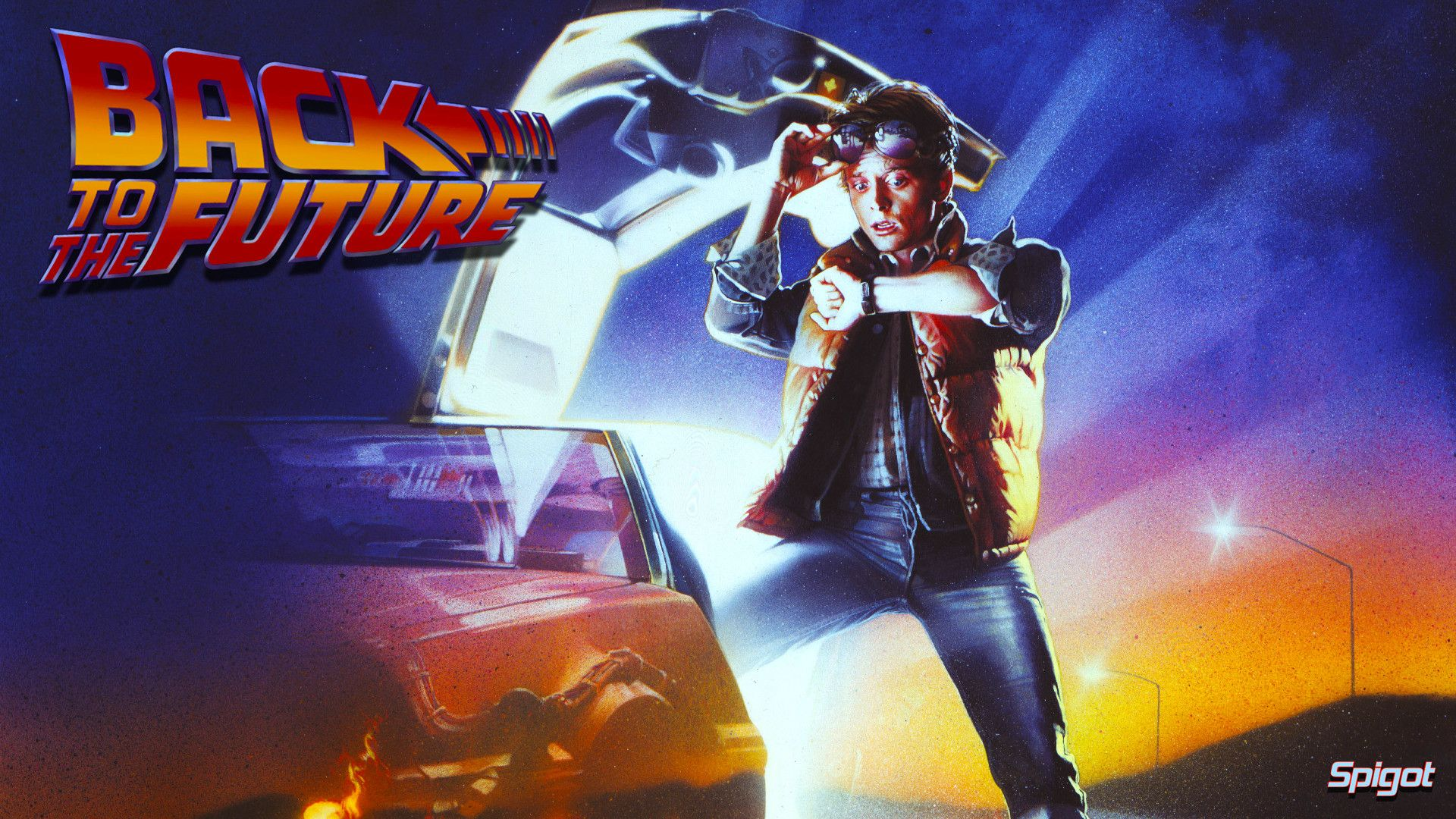 back to the future movie poster hd