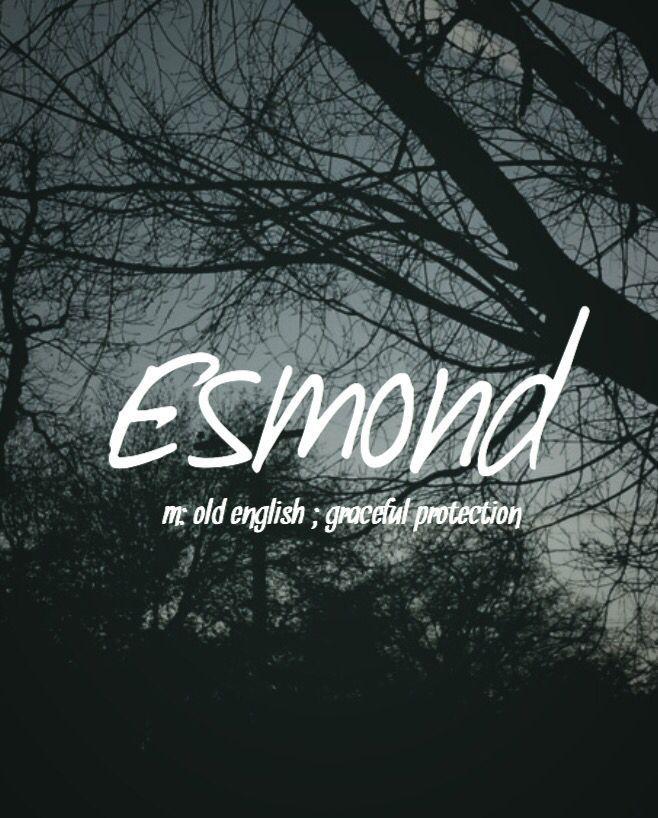 Esmond - einzigartiger und nobler Babyname!