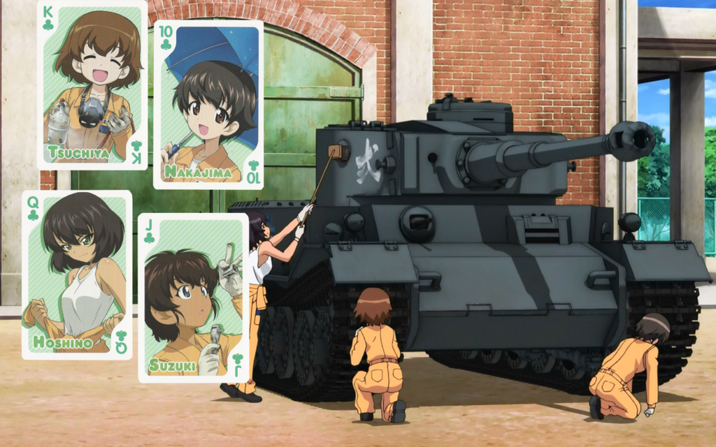 Girls Und Panzer Leopon Team Wallpaper Team Wallpaper Anime Wallpaper