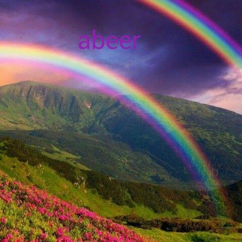 صباحكم أجمل علبة ألوان اتعلمون ماذا يمثل قوس قزح لسيدتي يمثل كل لون هو بمثابة ألوان حياني في كل صباح اسحب Nature Photography Nature Beautiful Nature