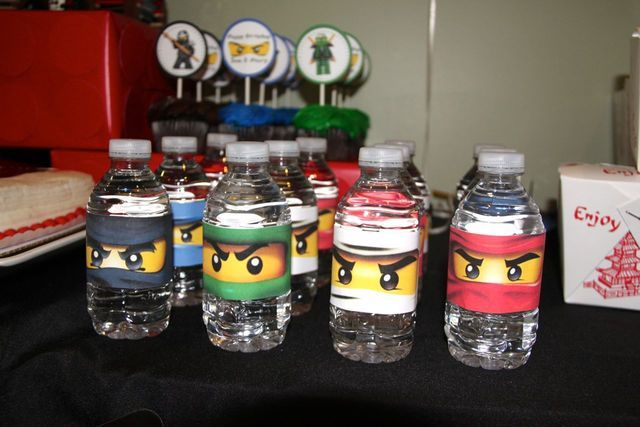 Lego ninjago ninja birthday party ideas lily 9th for Lego ninjago zimmer deko