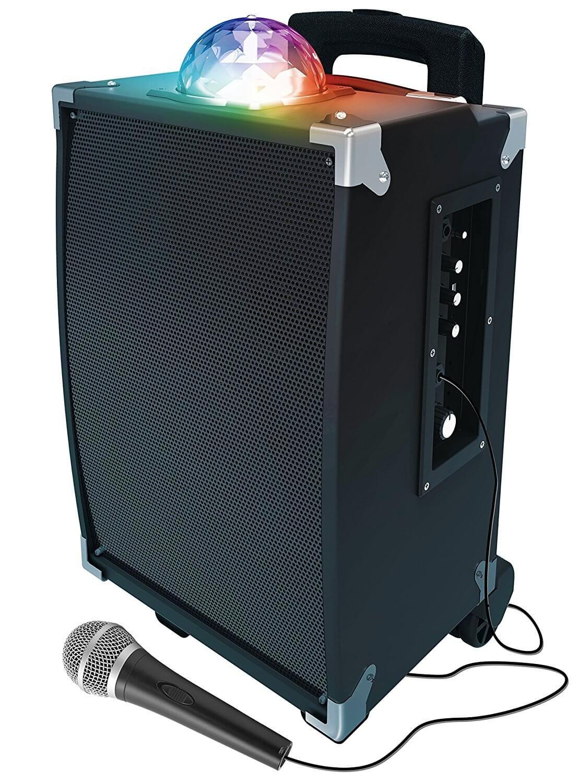 Sharper Image Sbt1009bk On The Go Speaker For Tailgating Best