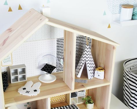 Eine Puppenhaus Braucht Eine Tolle Moderne Einrichtung. Pimpe Jetzt Deine  IKEA Puppenmöbel Und Lade Dir