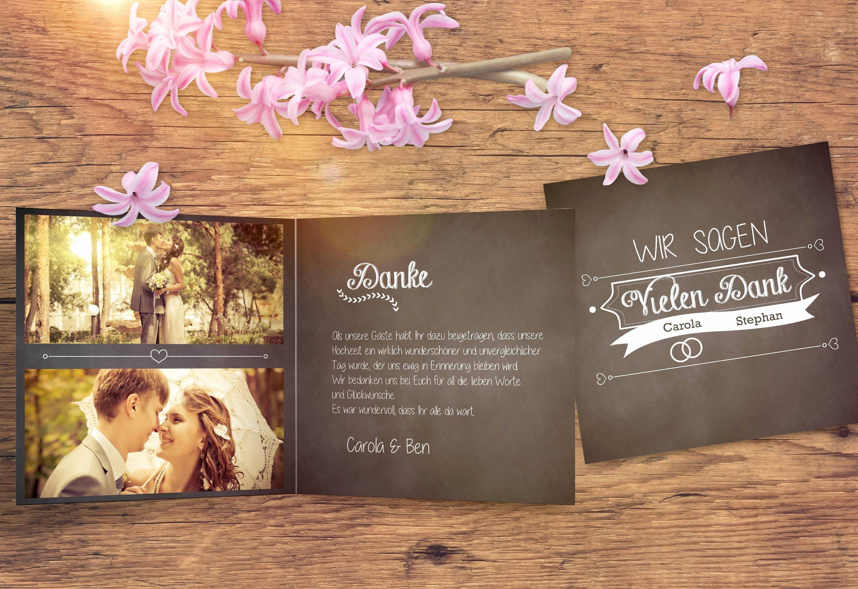 Einladungskarten Dm Hochzeit