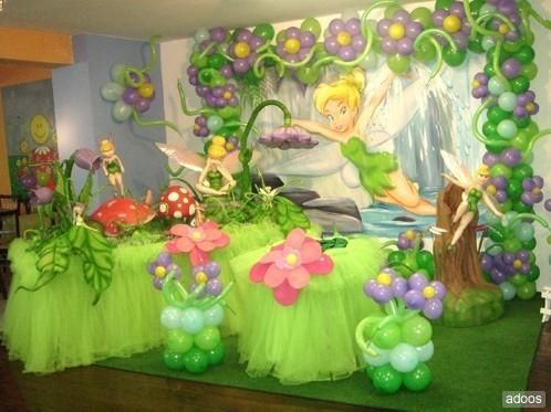 tinkerbell party omg luv this enora pinterest fee clochette id e d co anniversaire. Black Bedroom Furniture Sets. Home Design Ideas