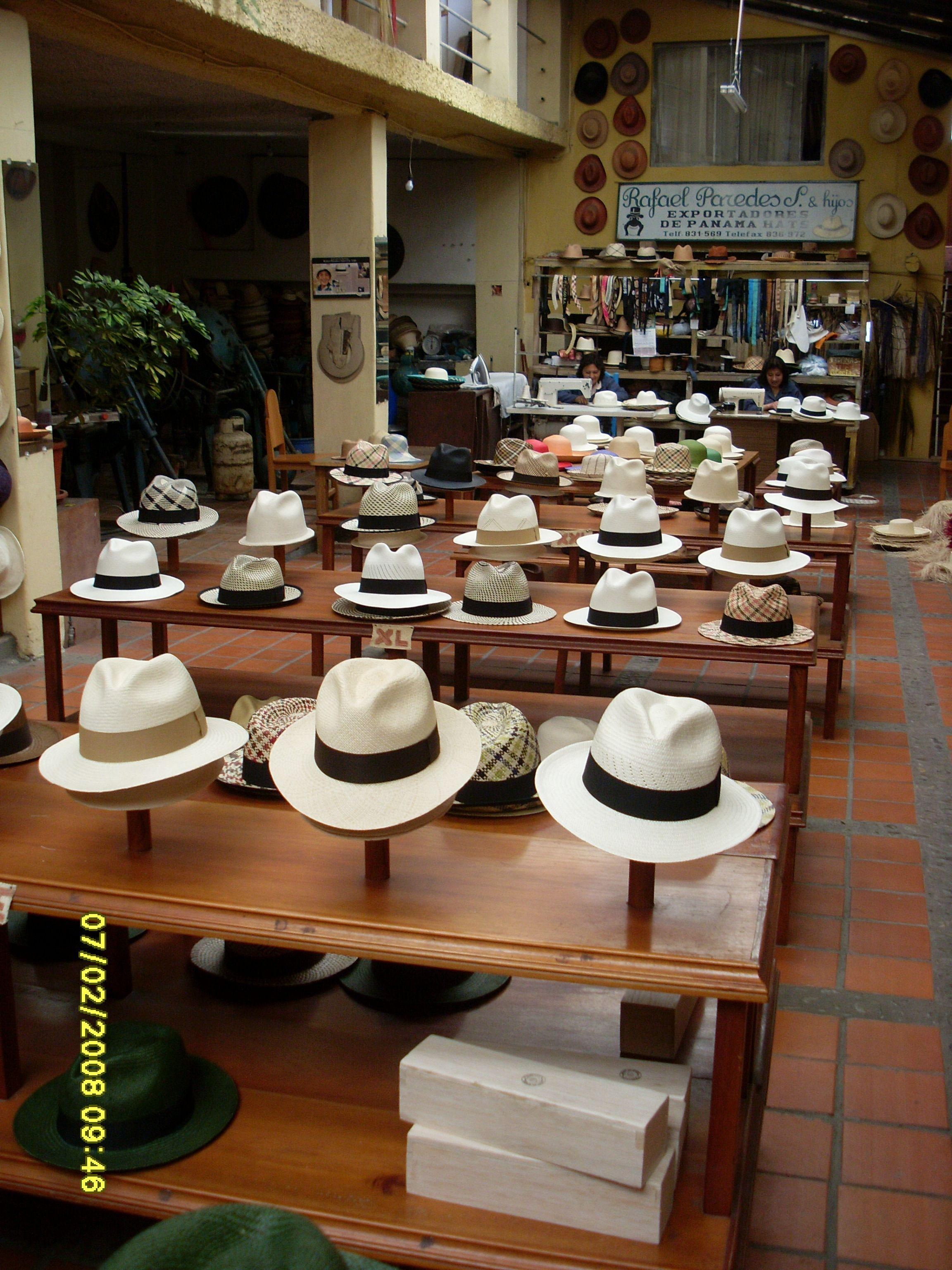 Panama Hats In Cuenca Ecuador Www Retire In Ecuador Com Hat Stores Hats For Men Mens Dress Hats