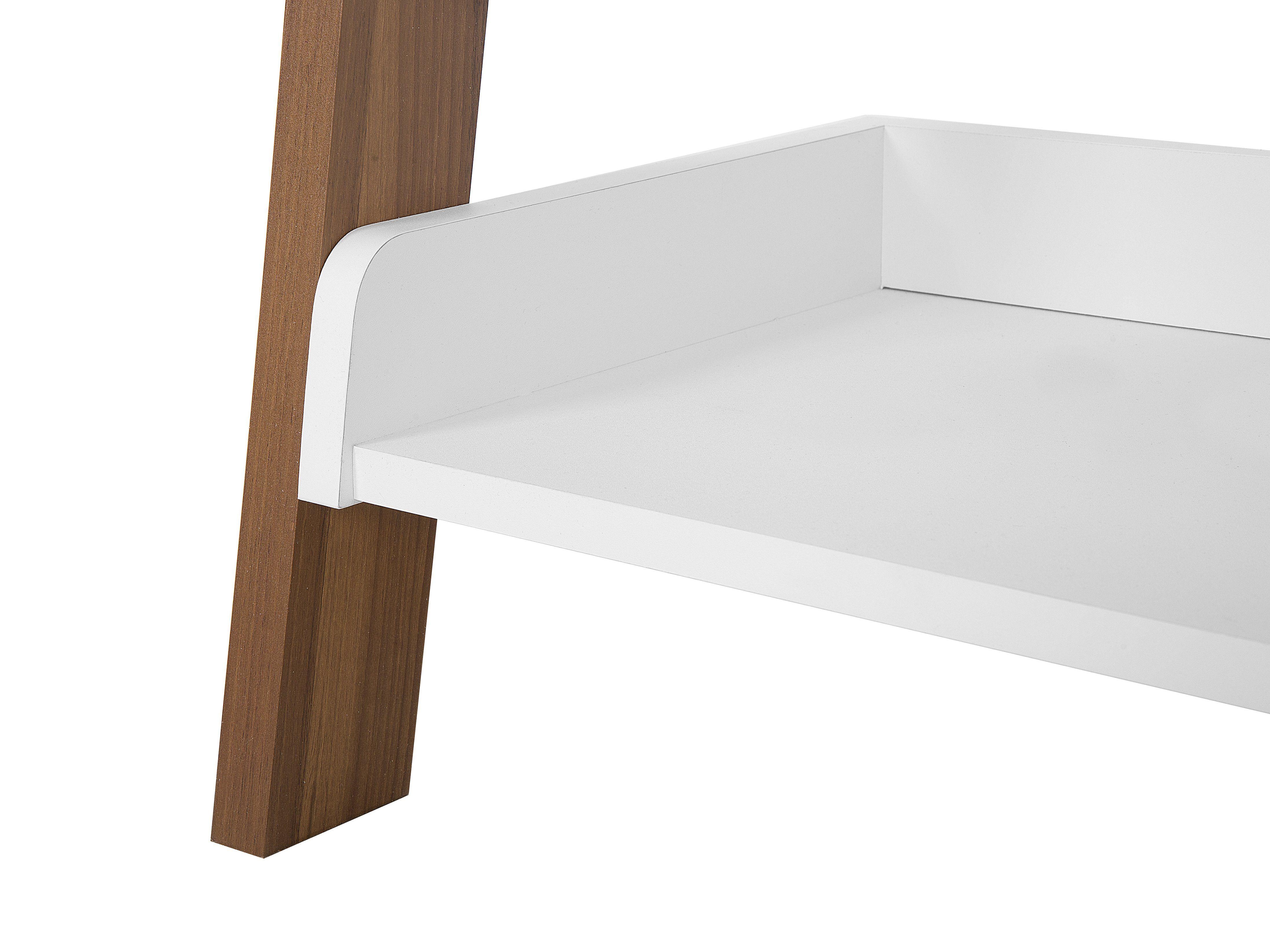Photo of MOBILE TRIO bookshelf brown and white