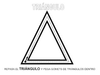 Recursos Educación Infantil Fichas De Formas Triangulos Fichas Educacion Infantil