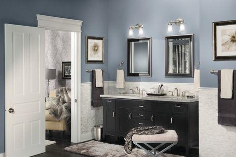 """eva brushed nickel 24"""" towel bar   best bathroom paint"""