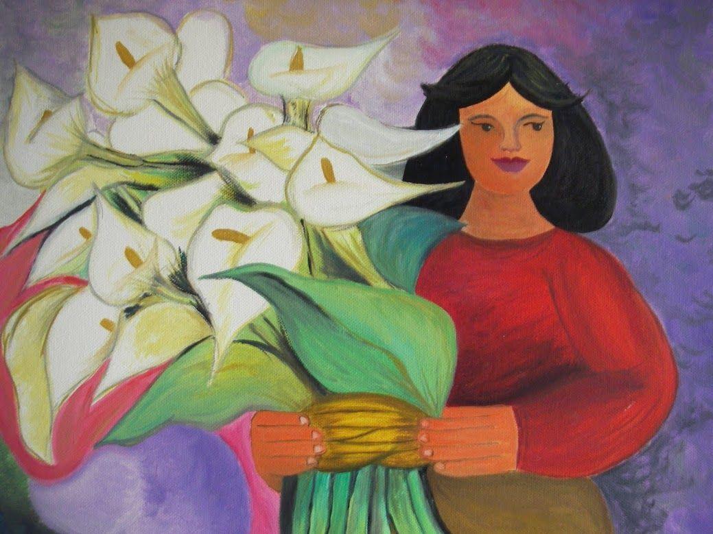Pintura de Diego Rivera Muralista Mexicano