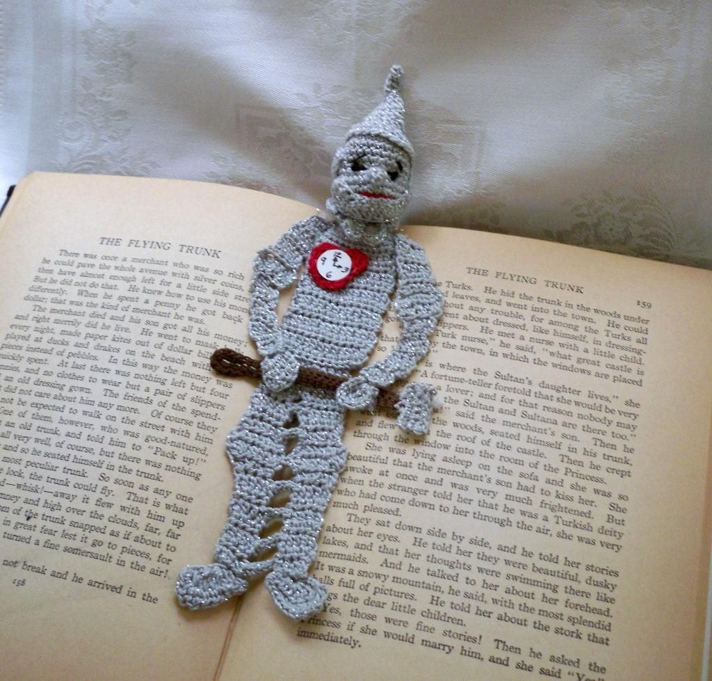 Got to make this for my Big Brother Tin Woodman of Oz bookmark