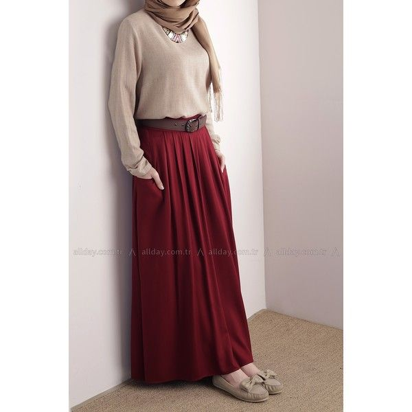 18d19d2289 Hijab formal style Turkish fashion blouse with maxi skirt | hijab ...