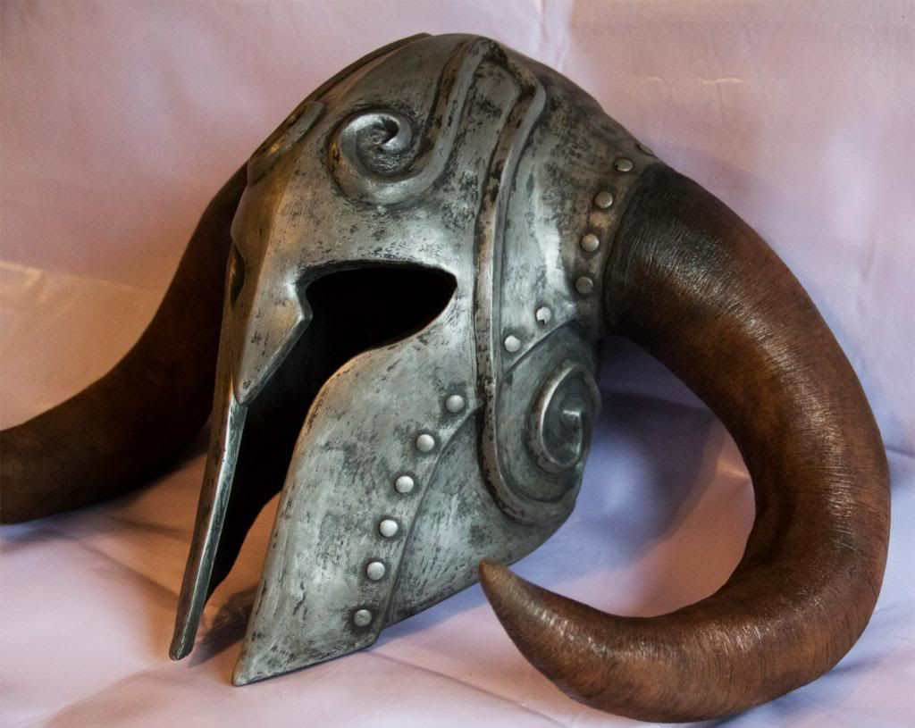 Uncategorized Viking Masks skyrim helmets ancient nord iron helmet very pic heavy by