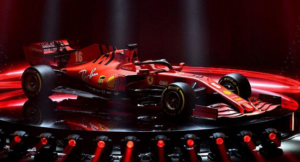 Ferraris Sf1000 Will Take On Mercedes During 2020s F1 Season Ferrari Has Unveiled Its 2020 Formula 1 Car Dubbed The Sf1000 At A Sp In 2020 Ferrari Car Formula 1 Car
