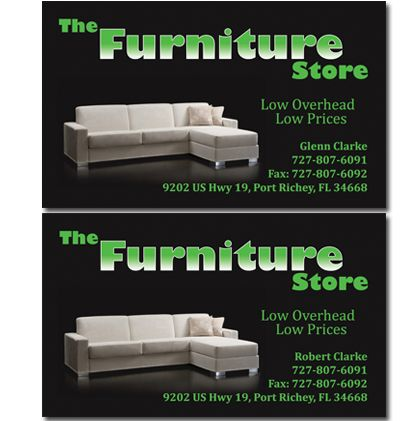 Furniture store business cards business cards pinterest furniture store business cards reheart Gallery