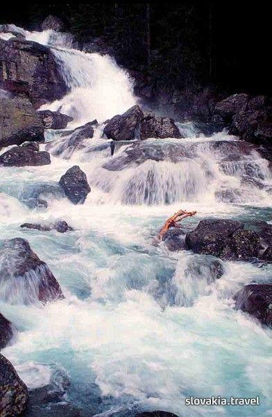 Wasserfälle Vodopády Studeného potoka (Hohe Tatra) - Slovakia.travel