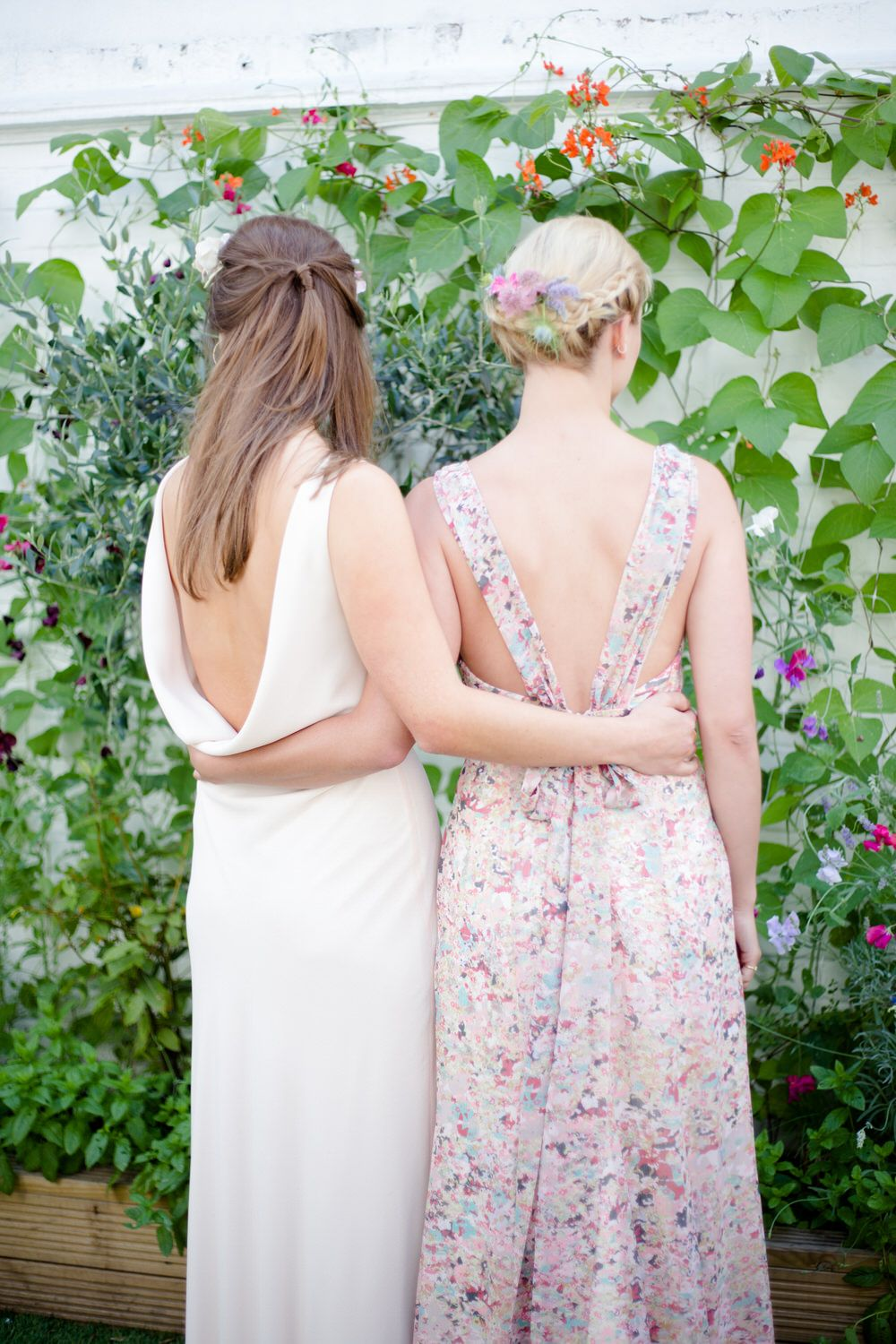 Low Back Pastel Made To Order Bridesmaids Dresses From Award Winning Bridesmaid Dress Retailer Maids