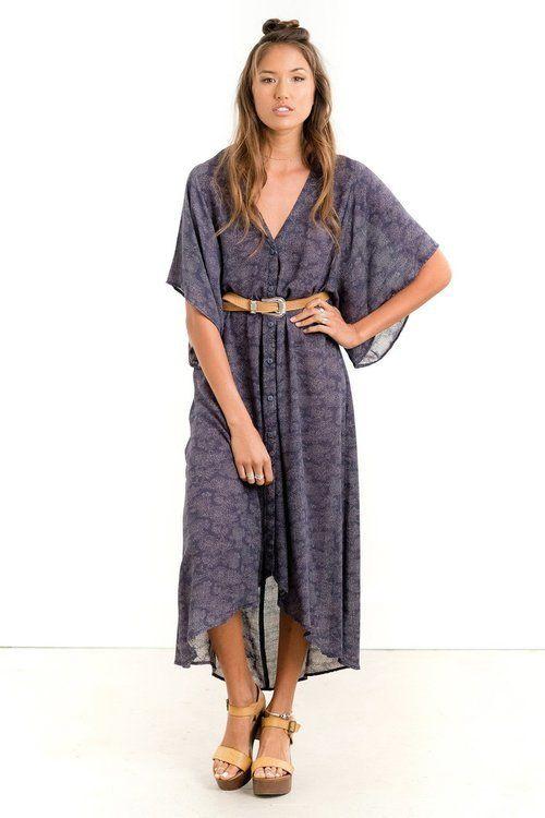 Saltwater Luxe - Festival Kimono Flourish
