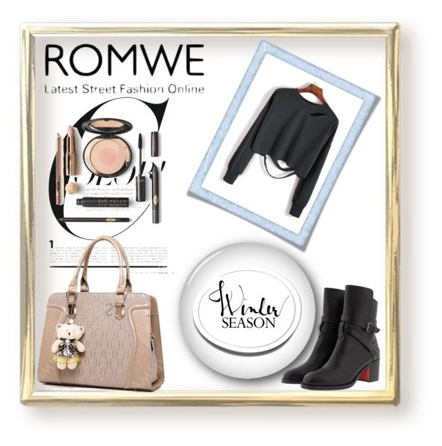 """""""romwe"""" by selma3355 ❤ liked on Polyvore featuring Christian Louboutin"""