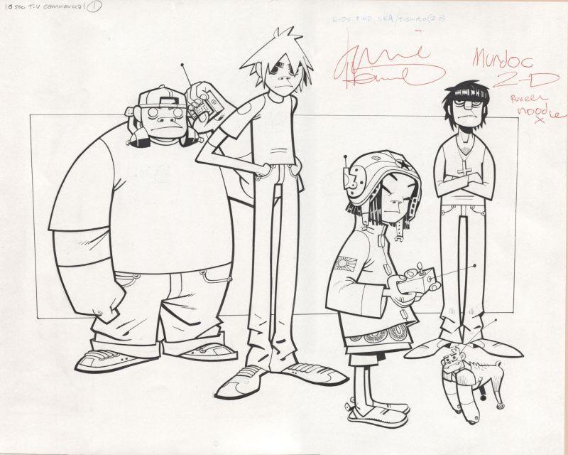 By Jamie Hewlett Gorillaz - Illustration | Artist Jamie Christopher Hewlett | Pinterest | Jamie ...