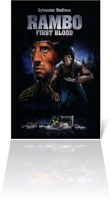 Rambo First Blood Part 1 1982 Pôsteres De Filmes Filmes