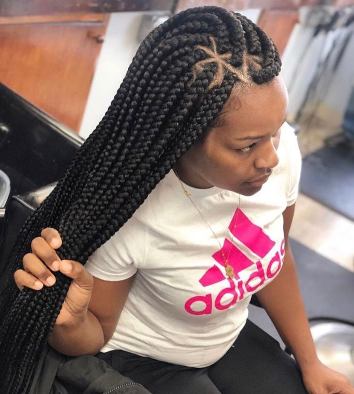 Pin By Mrs Hurt On Hair Styles Nigerian Braids Hairstyles Hair Styles Braided Hairstyles