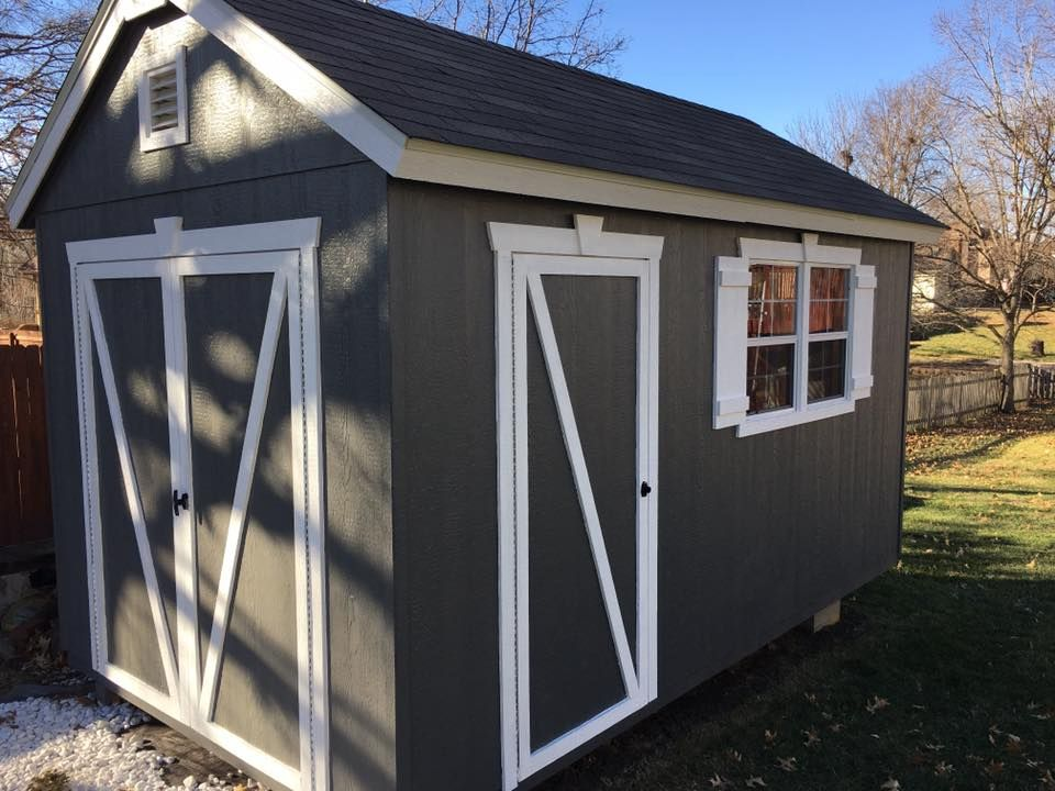 Behr Welded Iron Curb Appeal Outdoor Structures Shed