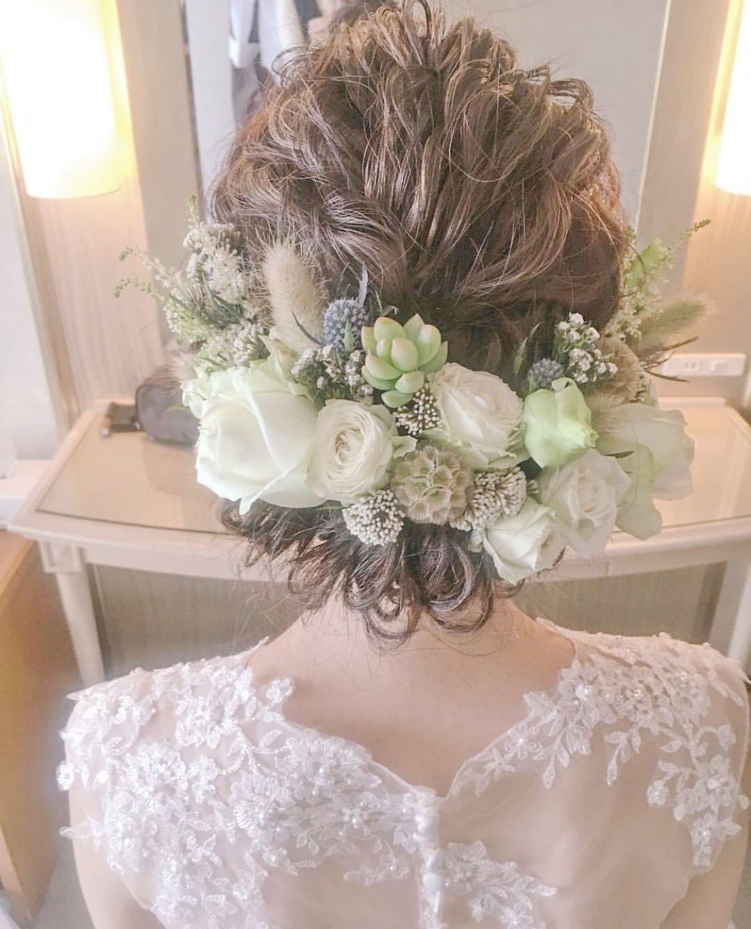 2020年最新 花嫁の髪型100選 ウェディングドレスや和装に合うヘア