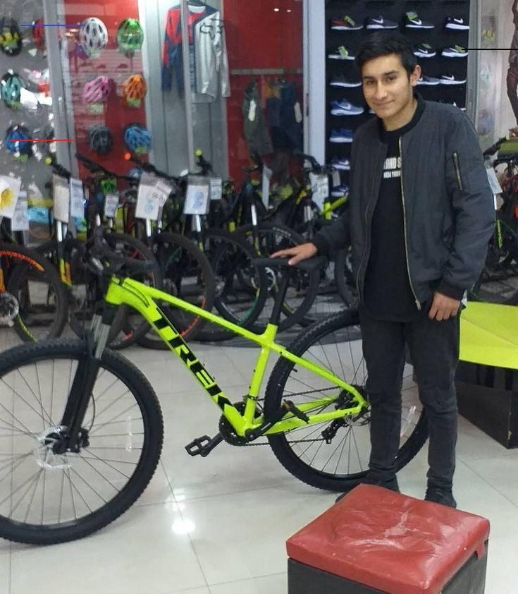 - Jewelry Ideas Cliente feliz @armijo.c con su bicicleta Trek marlin 5 @fulldeportessanfelipe coimas...