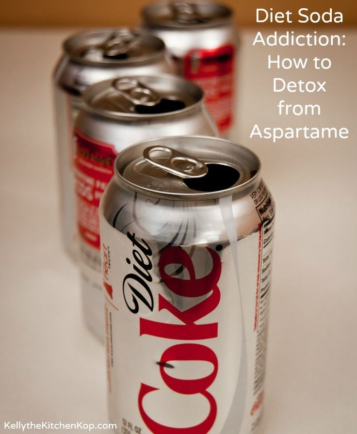 can diet coke cause swelling knee